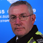 PCSO Neville Warner (image courtesy Sussex Police)